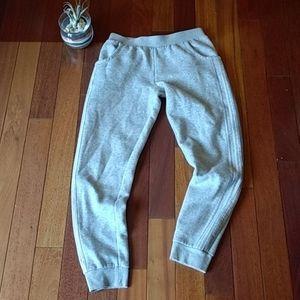 Adidas gray joggers. Size 16.